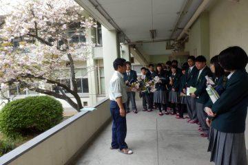 1年生の授業(科目:植物バイオテクノロジー)