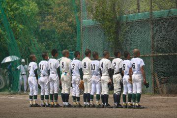 野球部 春季大会の試合がありました!