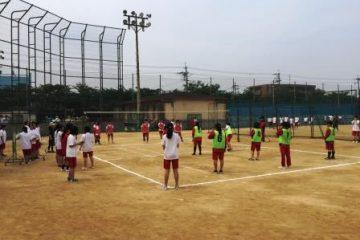 球技大会がありました。