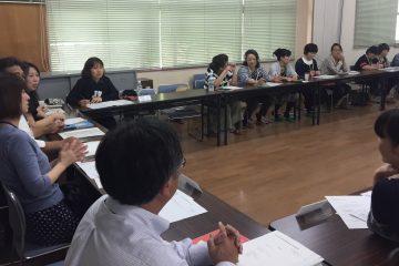6月のPTA役員会・実行委員会を行いました。