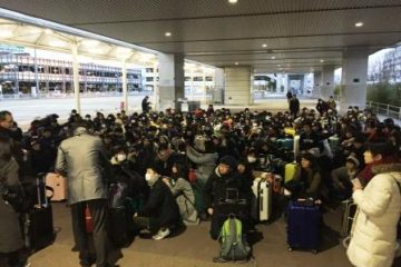 1月22日(月) 71期生が北海道修学旅行に出発しました。