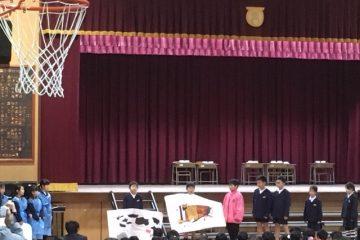 美原西小学校 「西小ワールド」に招待され参加しました。