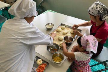 「親子パン教室」