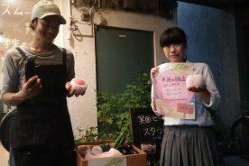 モモ(山陽水蜜)の収穫と販売のお知らせ