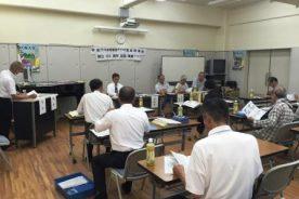 同窓会(みのり会)常任幹事会を開催しました。