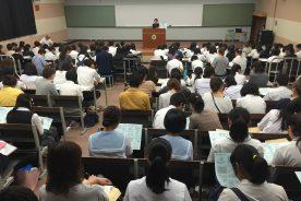 9月9日(金) 第1回学校説明会を開催しました。