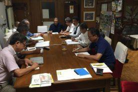 創立百周年記念特別事業のプロジェクトチーム会議を行いました。