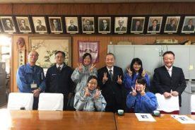 地域再生マネージャーの斉藤俊幸さんが来校されました。