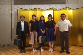 大阪府立実業高等学校PTA連合協議会総会と懇談会に参加しました。