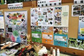 第25回大阪府産業教育フェア、大阪府公立高校進学フェアで生徒たちが大活躍しました。