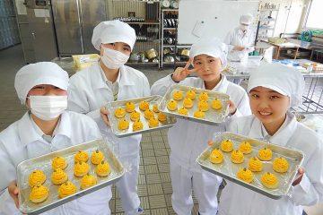 製菓専攻、3年生のプロジェクト!