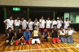 大阪府立実業高等学校総合体育大会バドミントン競技の部