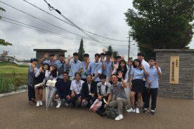 韓国の高校生が本校を訪れ、学校交流を行いました。