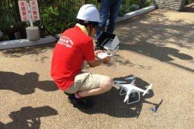 8月25日(金) 全校集会並びにドローンによる空撮のリハーサル撮影を行いました。