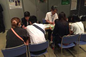 平野区での公立高校進学説明会に参加しました。