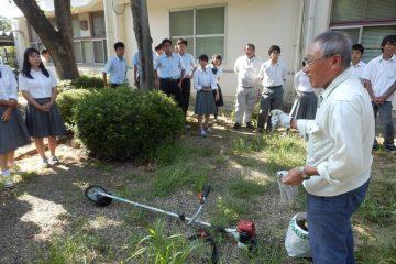 農業機械の講習会