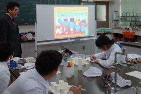 「食品のおいしさ」についての講義と実験