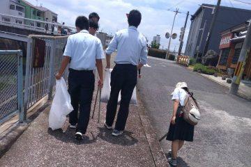 生徒会地域清掃活動