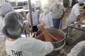 食品加工科 体験入学会